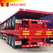 Superior Quality 40 Ton 2 Axles Flatbed Trailer
